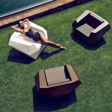 Poltrona da giardino Faz by Vondom design moderno in polietilene