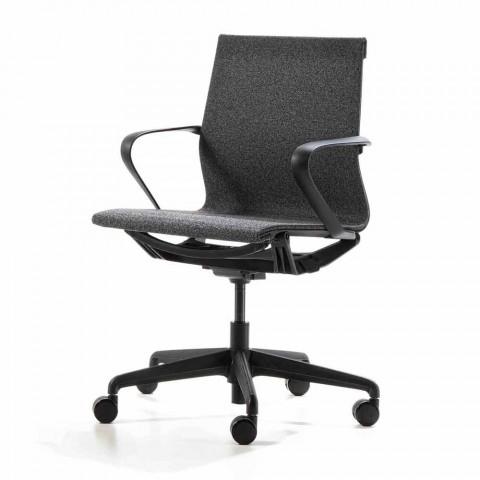 Poltrona Ufficio Con Sedile Girevole E Meccanismo Basculante
