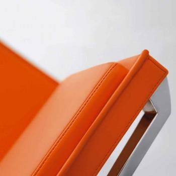 Poltrona da ufficio ergonomica in pelle o tessuto Nulite