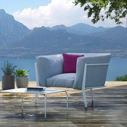Poltrona di Design da Esterno o Interno Moderna e Made in Italy - Carminio1