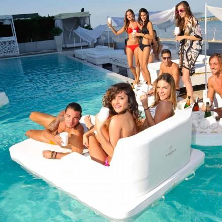 Poltrona galleggiante per piscina a doppia seduta Trona Magnum