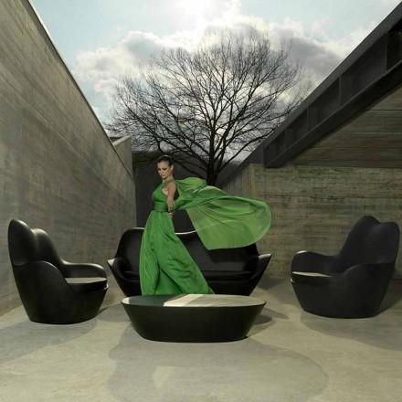 Poltrona in polietilene per esterno Sabinas by Vondom, design moderno
