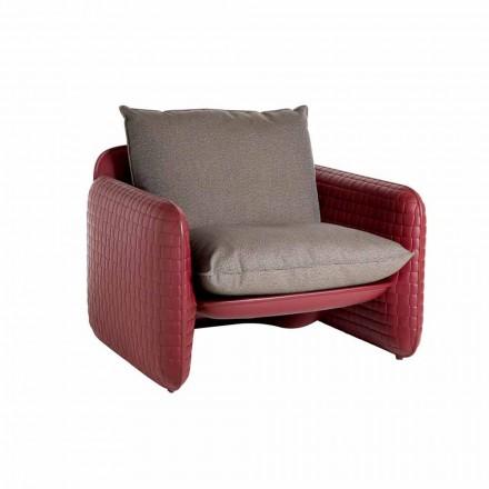 Poltrona Lounge con Cuscini Impermeabili,per Esterno - Mara Slide