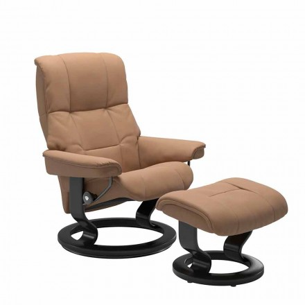 Poltrona Reclinabile in Pelle Stressless - Mayfair