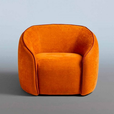 Poltrona Relax Design Moderno Made in Italy in Tessuto Colorato - Baloo