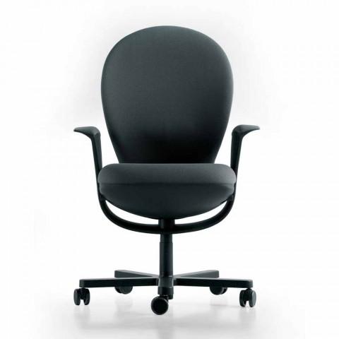 Poltrona Ufficio Direzionale.Poltrona Ufficio Direzionale Di Design Bea Scocca Grigia Luxy