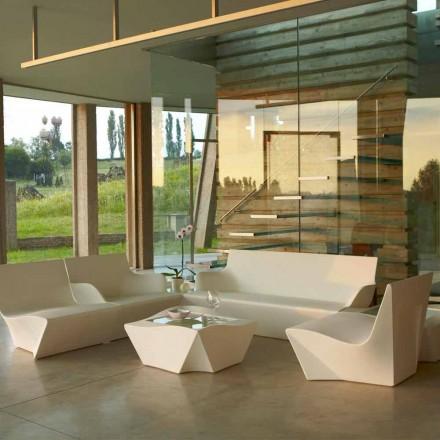 Poltroncina lounge design moderno Slide Kami Ichi fatta in Italia