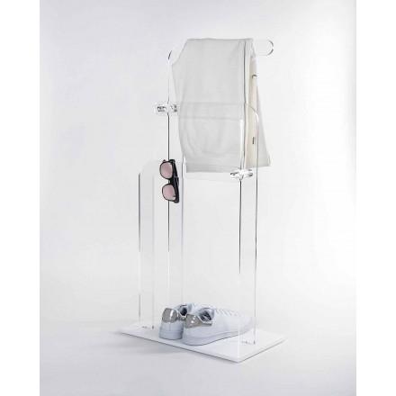 Porta asciugamani da bagno, in plexiglass PMMA Zanica