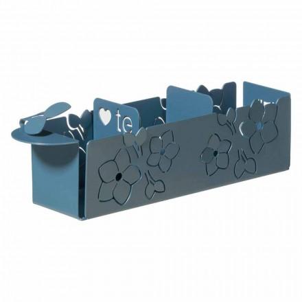 Porta Bustine da The Floreale di Design Moderno in Ferro Made in Italy – Marken