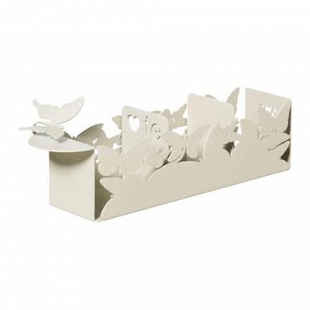 Porta Bustine The Moderno in Ferro Produzione Artigianale, Made in Italy – Leida