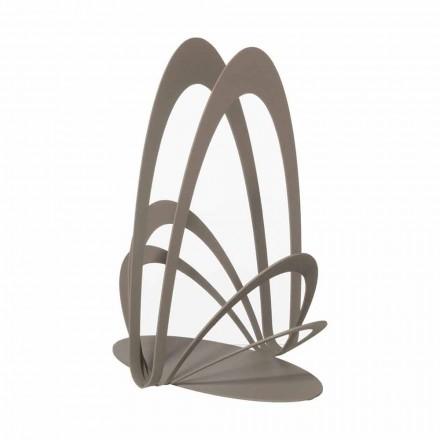 Portabicchieri Design in Ferro Lavorato Artigianalmente, Made in Italy - Futti