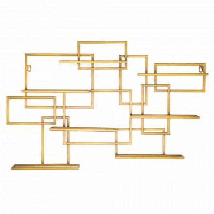 Portabottiglie da Tavolo Orizzontale di Design in Ferro - Berti