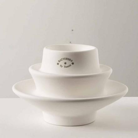 Portacandela in ceramica smaltata, H 110cm, Candelsea - Toscot