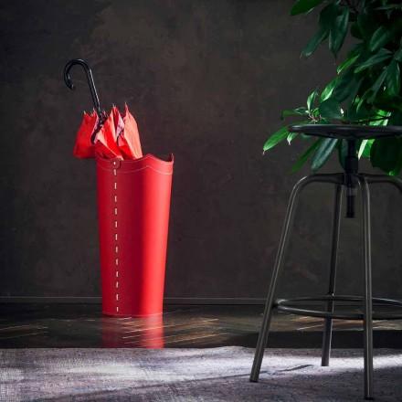 Portaombrelli di design in cuoio per casa o ufficio Umbrella