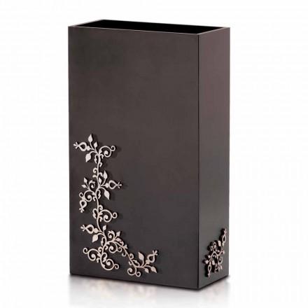Portaombrelli di Design Rettangolare Elegante Moderno in Legno Decorato - Dekoro