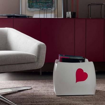 Portariviste di design in cuoio dal design moderno Beatrice