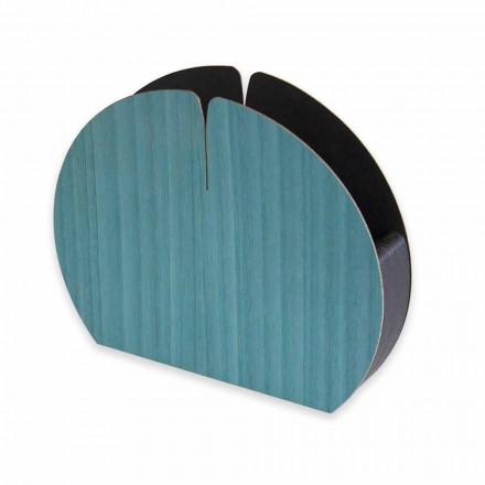 Portatovaglioli da Tavolo Moderno in Legno Naturale Made in Italy - Stan