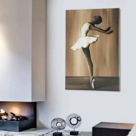 Quadro design moderno Ballet by Viadurini Decor made in Italy