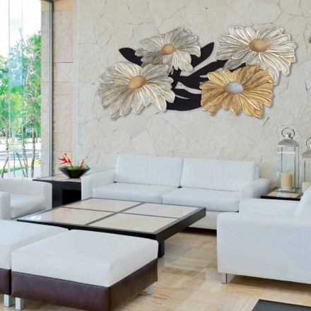 Quadro moderno floreale Margherite by Viadurini Decor