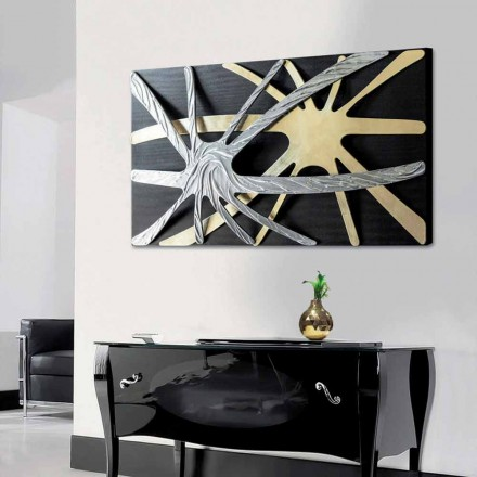 Quadro astratto di design Spider by Viadurini Decor made in Italy