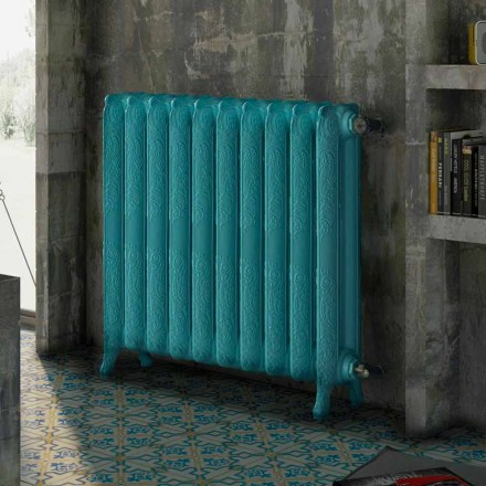 Radiatore termoarredo idraulico in ghisa decorato Tiffany Scirocco H