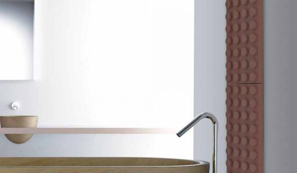 Radiatore termoarredo lego idraulico di design brick by scirocco h
