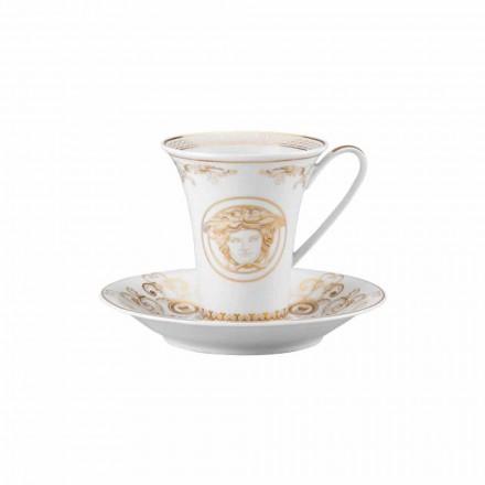 Rosenthal Versace Medusa Gala Tazza da caffè alta di design porcellana
