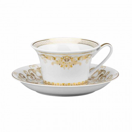 Rosenthal Versace Medusa Gala Tazza da tè di design in porcellana