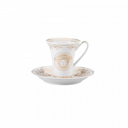 Rosenthal Versace Medusa Gala Tazzina da caffè di design porcellana