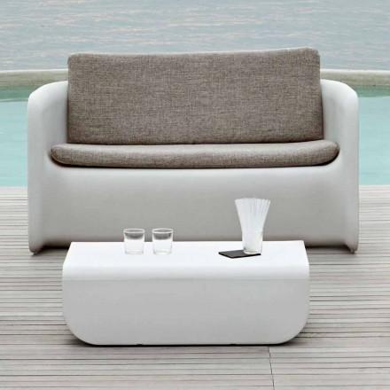 Salotto da Giardino di Design Made in Italy, Divano e Tavolino - Nova by Myyour