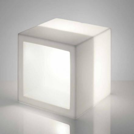 Scaffale luminoso a cubo Slide Open Cube design moderno fatto Italia