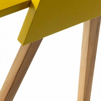 Scrittoio in multistrato di legno design Grilli Hemingway made Italy