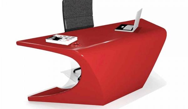 Scrivania Moderna Design : Scrivania angolare bianca scrivanie moderne design gradi marche