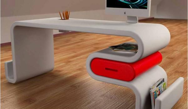 Scrivania Moderna Design : Scrivanie per piccoli spazi scrivanie moderne design wastepipes