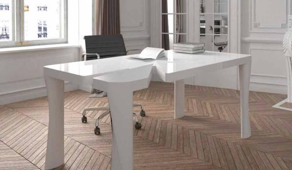 Scrivania di design per ufficio in solid surface punk