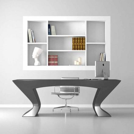 Scrivania per ufficio design moderno Nefertiti made in Italy
