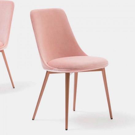 Sedia di Design in Tessuto e Metallo Made in Italy – Bonaldo Itala