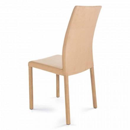 Sedia moderna di design fatta in Italia Jamila per sala da pranzo