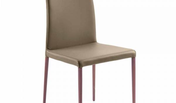 Sedie Sala Da Pranzo Ecopelle : Sedia sala da pranzo moderna in ecopelle h cm made in italy abbie