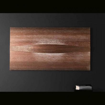 Selene Art&Light applique con pannelli texturizzati 140xH75 cm