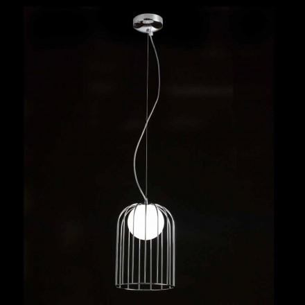 Selene Kluvì lampada a sospensione in vetro soffiato Ø19 H 27/150cm