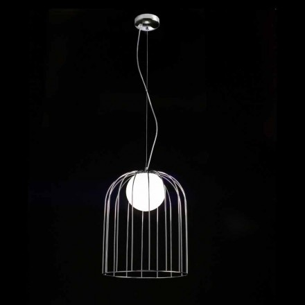 Selene Kluvì lampada a sospensione in vetro soffiato Ø33 H 41/150 cm