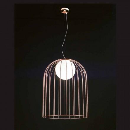 Selene Kluvì lampada a sospensione in vetro soffiato Ø54 H 70/200cm