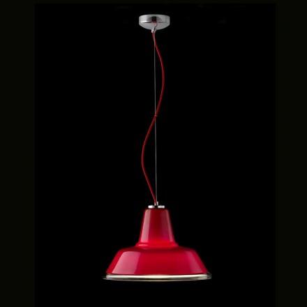 Selene Lampara lampada a sospensione in vetro soffiato Ø37 H 24/140 cm