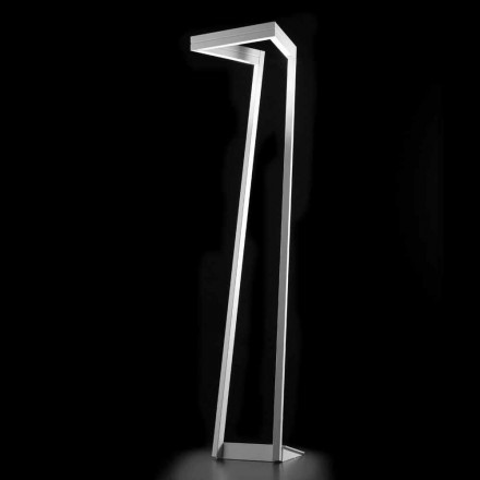 Selene My Way lampada da terra a LED bianca 40x40 H180cm,made in Italy