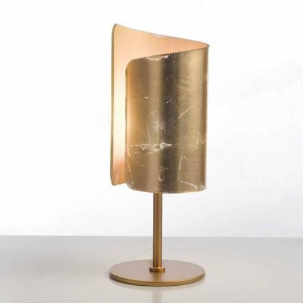 Selene Papiro lampada da tavolo di design in cristallo Ø15 H38cm