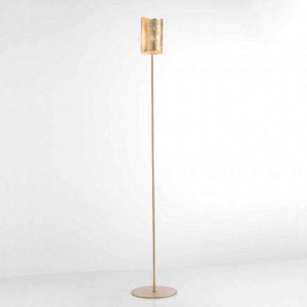 Selene Papiro lampada da terra di design in cristallo Ø15 H 180cm