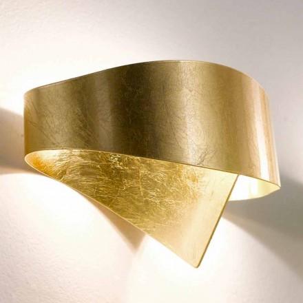 Selene Scudo lampada da muro moderna made in Italy 29x15xH16 cm