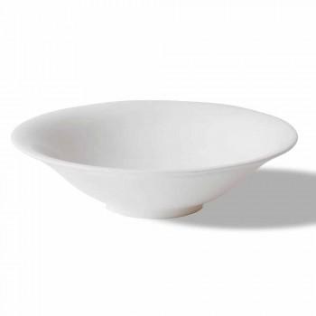 Servizio Coppette Frutta o Gelato Bianche 12 Pezzi di Design Elegante - Doriana