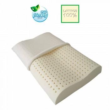 Set 2 cuscini anallergici e traspiranti 100% lattice Bio Cervical